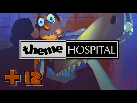 Theme hospital- Staff, attend to the hospital, please! (Ep12)