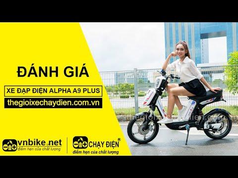 Đánh giá xe đạp điện Alpha A9 Plus