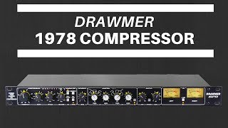Drawmer 1978 Compressor Demo by TransAudio Group