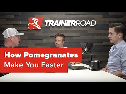 How pomegranates make you faster