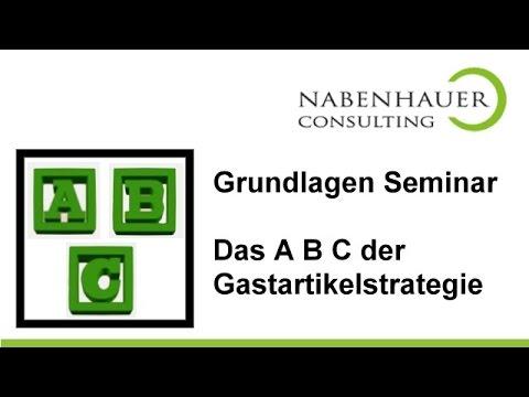 Gastartikelstrategie - Grundlagen Seminar - Wie funktioniert die Gastartikel Strategie?