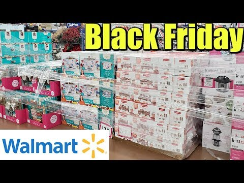 WALMART BLACK FRIDAY IS HERE WALKTHROUGH 2019