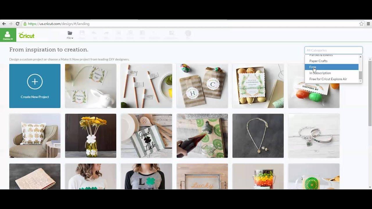 How to Find ALL the FREE Images in Cricut Design Space