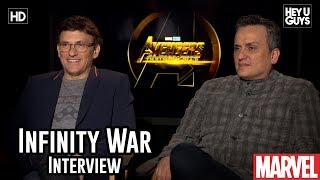 Directors Anthony Russo & Joe Russo On Thanos And Making The Ultimate Avengers Film - Infinity War