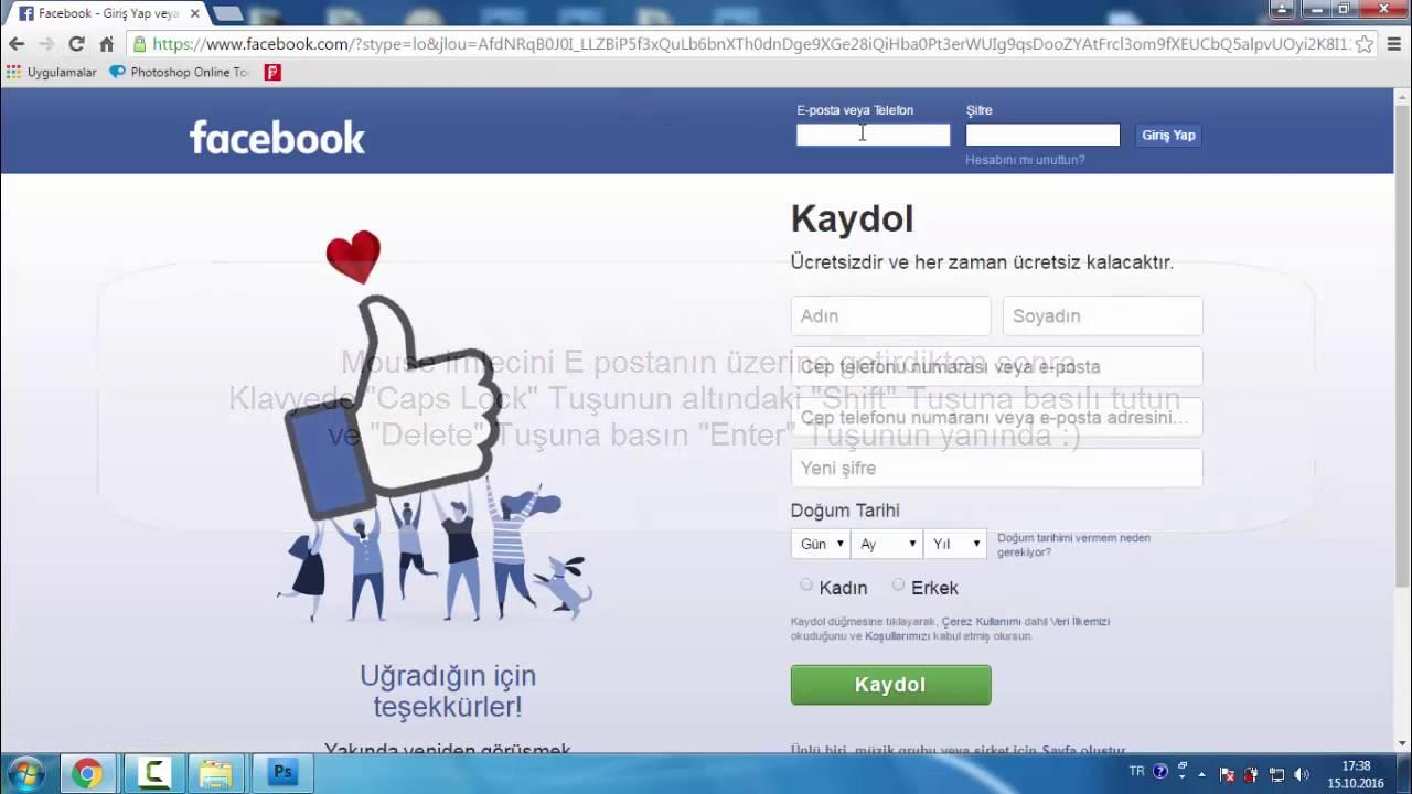 Facebookdaki bir sayfayı tamamen veya geçici olarak silmek için