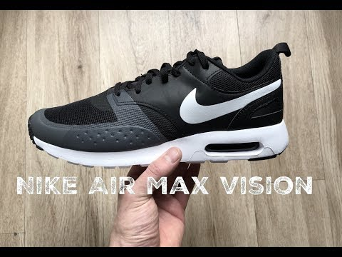 Nike Air Max Vision ˋblack/white-dark grey´ | UNBOXING & ON FEET | fashion shoes l 2017 l HD