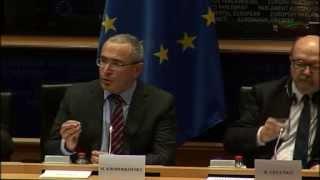 Mikhail Khodorkovsky Addresses European Parliament 2 Dec 2014