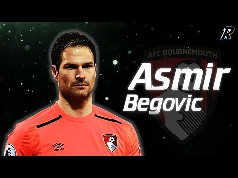 Asmir Begović 2017/18 Amazing Saves - AFC Bournemouth