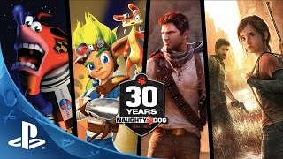 Naughty Dog 30th Anniversary Video Promo