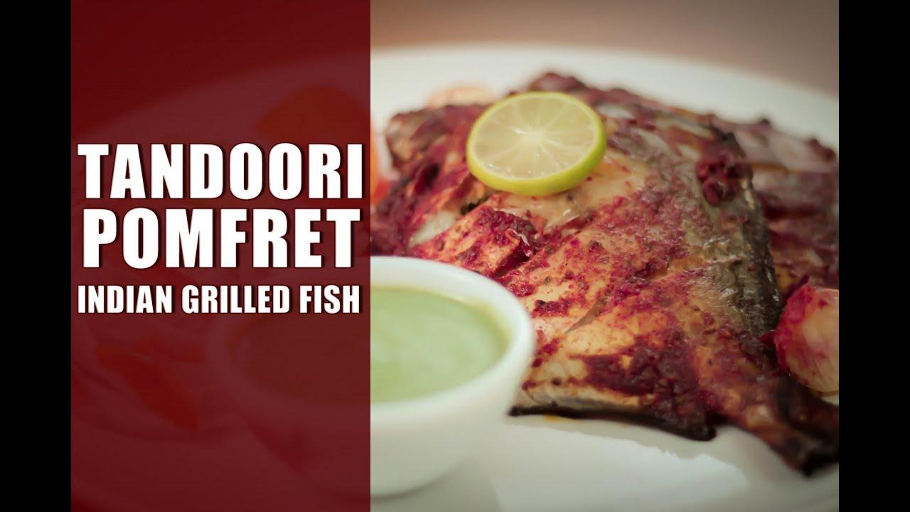 Tandoori Pomfret Indian Grilled Fish Recipe By Sharmilazkitchen