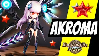 Akroma. The invisible power of Gods Shield in Summoners War YouTube Videos