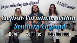 Southern England Language Variations- Part 1