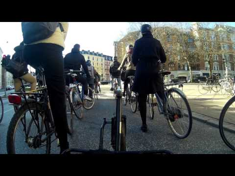 Copenhagen Cycling: Rush Hour