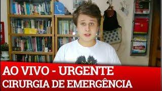 URGENTE: BOLSONARO PASSA POR CIRURGIA DE EMERGÊNCIA - CIRURGIA FINALIZADA