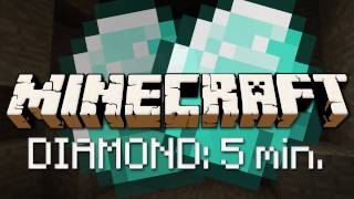 Minecraft Diamant in unter 5 Minuten!