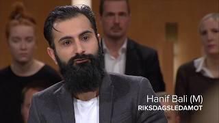 Hanif Bali vs Per Gahrton om afghanska ensamkommande