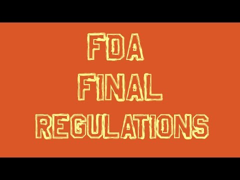 FDA Announces Final Regulations For Vaping!
