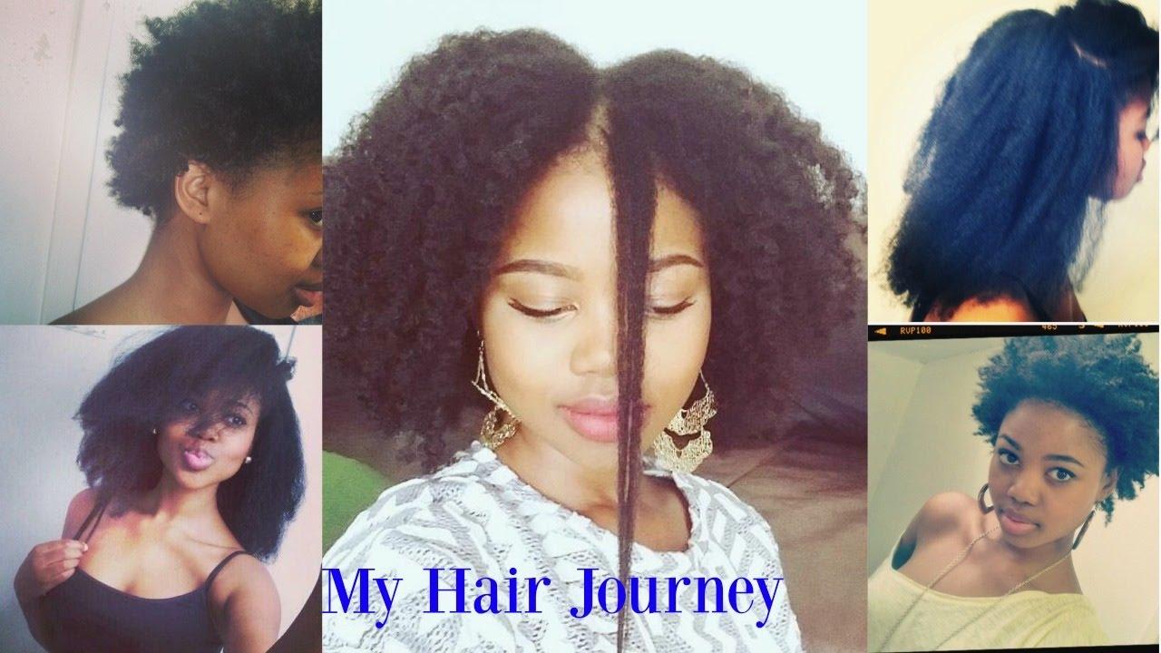 Natural Long Hair Journey
