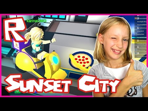 Sunset City / You Can't Find ME / Roblox