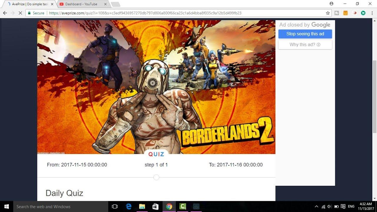 When was premiere of Borderlands 2?