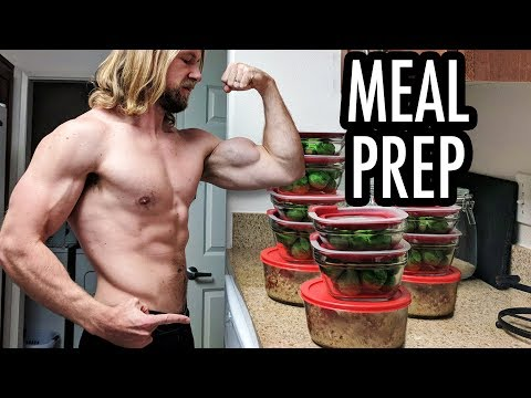 How To Meal Prep - Easy Beginners Guide! | Buff Dudes Cutting Plan P1D4