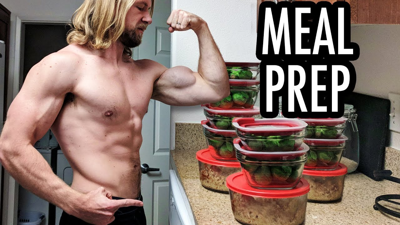 How To Meal Prep – Easy Beginner's Guide!   Buff Dudes Cutting Plan P1D4