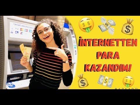 İnternetten Para Kazandım | UYGULAMALI