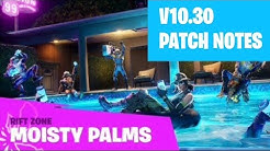 10.3 Patch Notes Fortnite