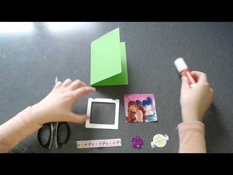 видео: Открытка своими руками: Магия Дружбы