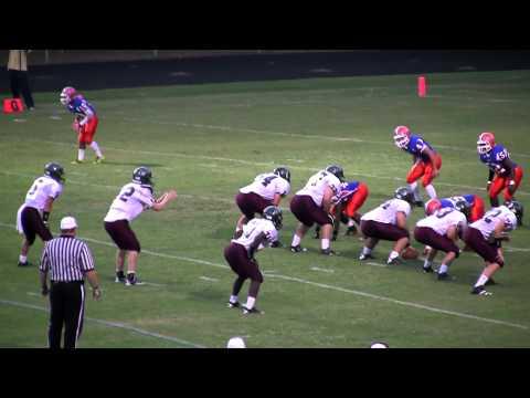 Dylan Hartigan 5  Touchdown Run  Green Hope Football  09092011