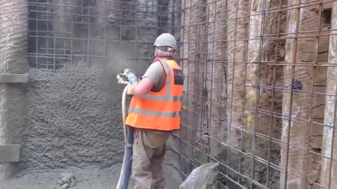 Limax Piling Shotcrete Youtube