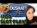INSANE BONUS WIN! 😍 Live Slots from Coushatta, Kinder Louisiana