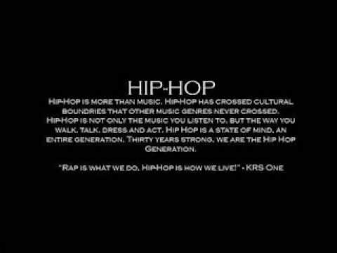 Hip Hop Is More Than Music Youtube