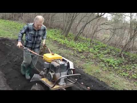 посадка картофеля под мотоблок советы СТАРОГО пахаря