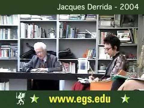 Jacques Derrida. Gilles Deleuze: On Forgiveness. 2004 1/11
