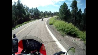 "Coronado Trail Scenic Byway ""US Route 666"" & Cornering - US Route 191 (AZ) 2011"