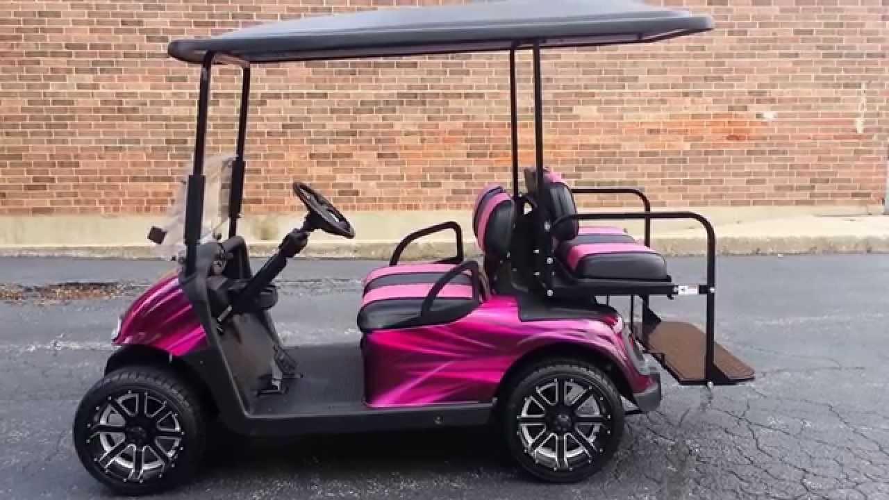 Coustom Seats Ez Go Golf Carts on