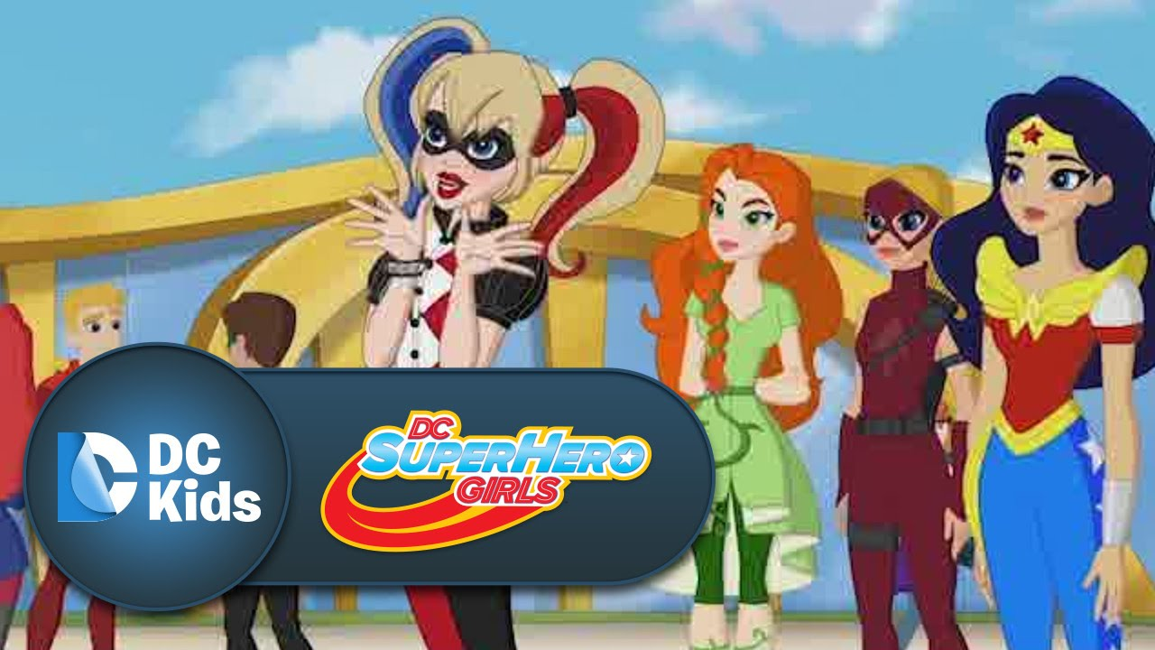 Official Trailer Super Hero High Dc Super Hero Girls