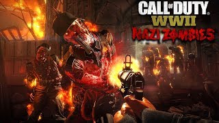 WW2 ZOMBIES: ATTEMPTING SOLO EASTER EGG & BOSS FIGHT! (Call of Duty WW2 Zombies)