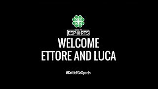 Celtic FC - eSports World Champions sign for Celtic