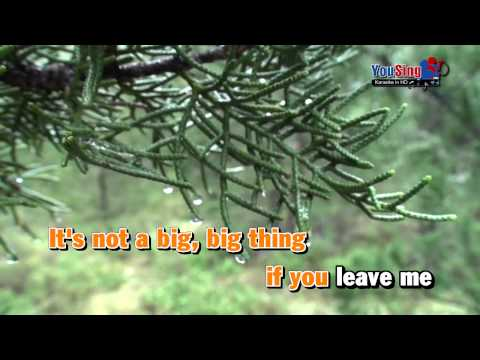 [Karaoke LR] Big Big World   Trish Thùy Trang