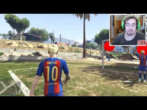 VAMOS JOGAR FUTEBOL COM RONALDO E MESSI | GTA V (Soccer Mod)