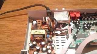 Ремонт тюнера EUROSKY es4100 немає сигналу (конденсатор)