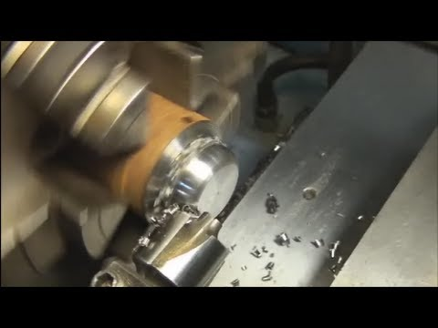 Using a Corner Rounding End Mill on the Lathe
