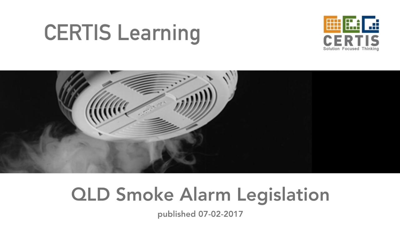 QLD Smoke Alarm Legislation - YouTube