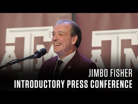 Jimbo Fisher Introductory Press Conference 12.4.17
