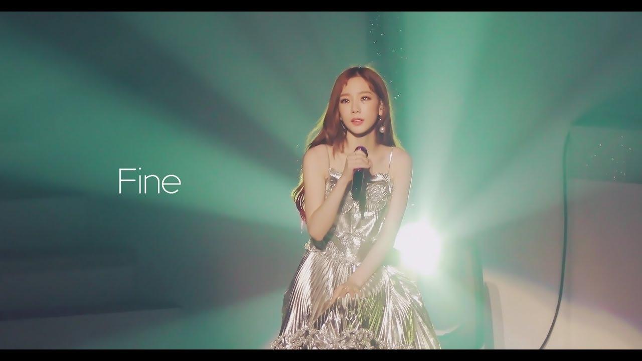 ̓œì—° Taeyeon Fine Live S Tour Youtube