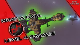 What A Haul, LVL 4 Salvage | EVE Online