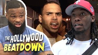 Tyron Woodley Says Offset and Chris Brown Beef Should End In The Ring   The Hollywood Beatdown