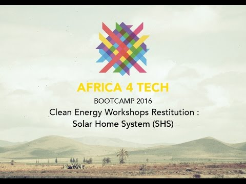 A4T 2016 - Clean Energy Workshops Restitution